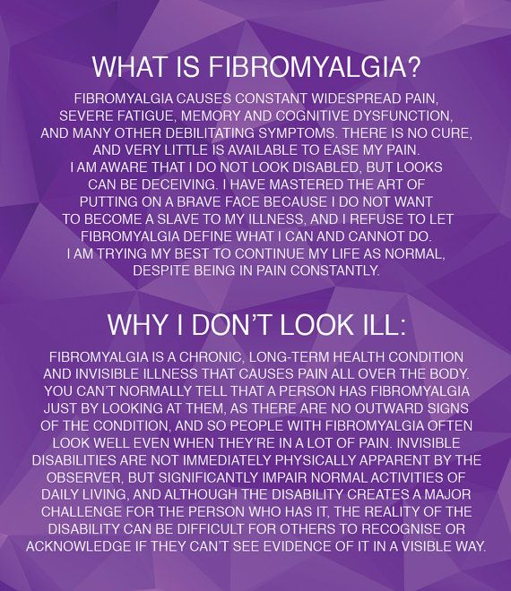 Fibromyalgia Information Cards by MyFibroAlgia on Etsy