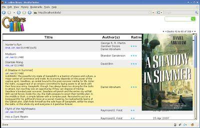 Ubuntulandia: Calibre programma per gestire la tua biblioteca personale di e-Book.