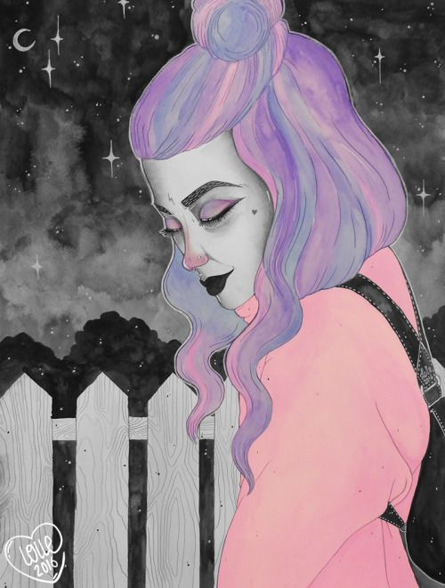 Melancolia (2016) ©Lolleϟ inspired to the lovely Cannibale Core♥