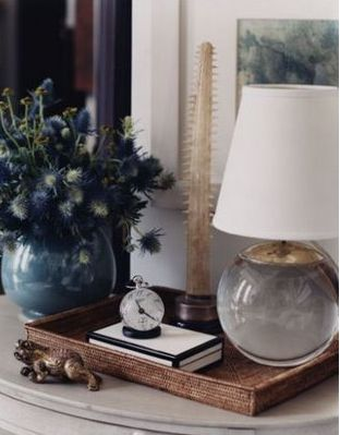 Thomas O'BrienVisual Comforters, Dear Heart, Decor Details, Thomas Obrien, House, Vignette, Tables Lamps, Thomas O' Brien, Design