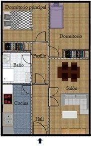 #Vivienda #Toledo Piso en alquiler en #Lominchar - Piso en alquiler por 350€ , 2 habitaciones, 68 m², 1 baño, con trastero, con ascensor, garaje 1 plaza/s