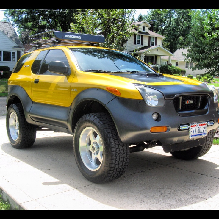 89 best 1999 2000 2001 Isuzu VehiCross images on Pinterest