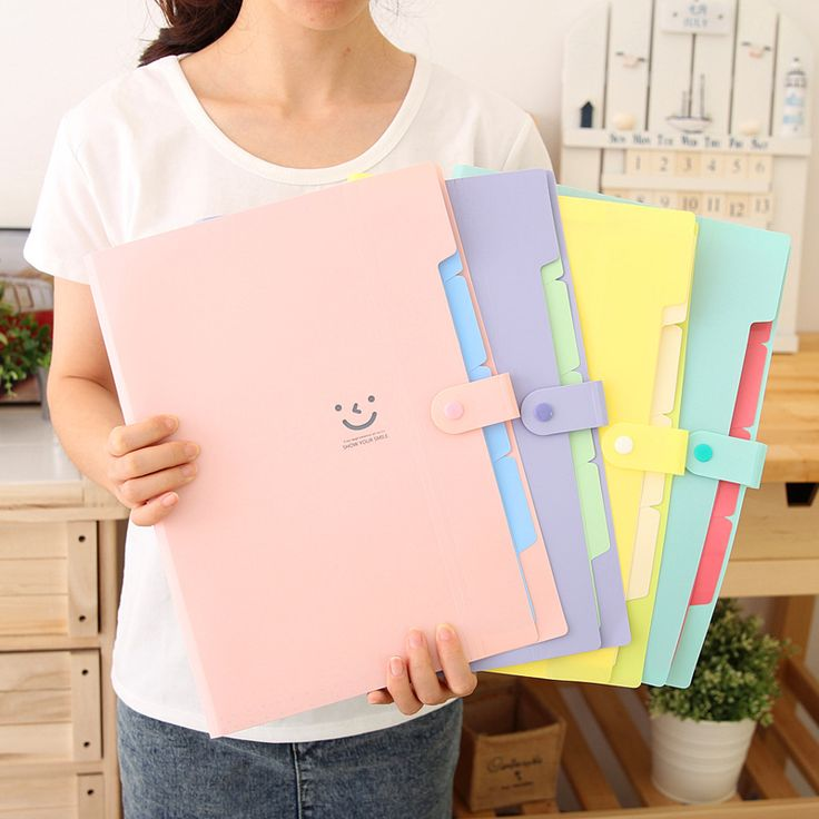 Stationery-small-fresh-candy-two-color-multi-layer-a4-folder-portable-kit.jpg (800×800)
