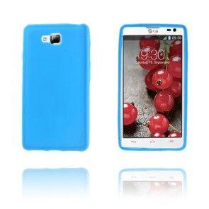 Soft Shell (Sininen) LG Optimus L9 II Suojakuori