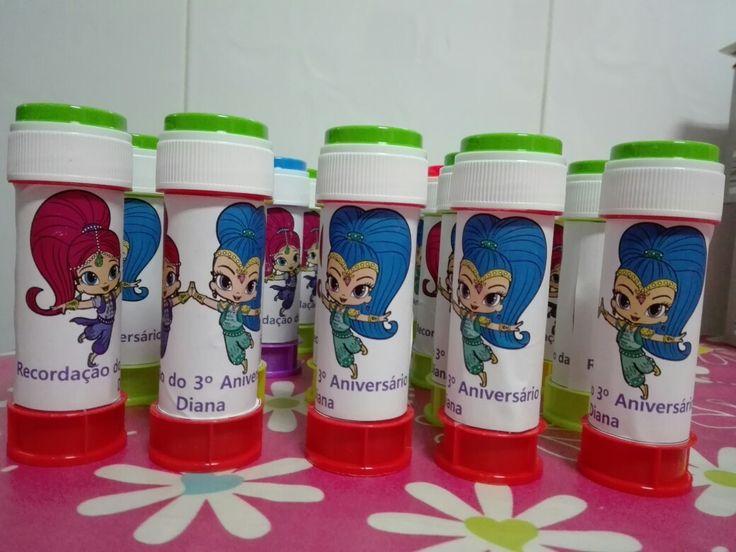 Bolas de sabão #shimmerandshine #ofertas #lembranças #bolasdesabao#oskisdacátia