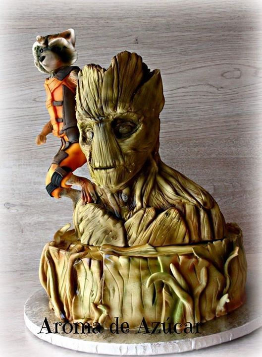 1000 Images About Groot Cakes On Pinterest