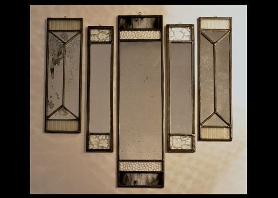 mix and match mirrors by glassattacks on Etsy
