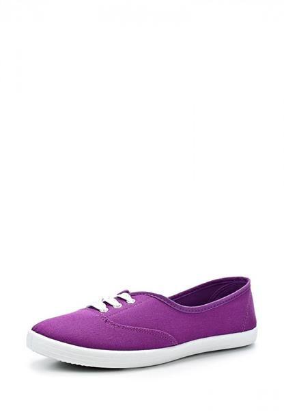 Фиолетовые кеды камелот