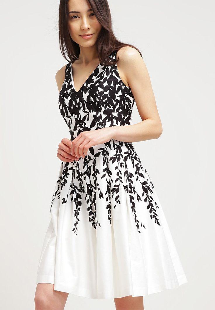 Lauren Ralph Lauren MARIETTA Robe d'été white/black prix promo Robe d'été Zalando 170.00 €
