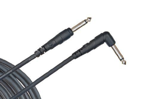 Planet Waves Classic Series Instrument Cable, Right Angle Plug , 20 feet by Planet Waves. $10.30. From the Manufacturer                Planet Waves Classic Series instrument cables provide the ultimate in quality and value. The right angle plug is a great choice for plugging into guitar side-mount jacks and effects pedals. The 20-foot length is ideal for longer runs, such as guitar-to-amp, and larger stages.Planet Waves Classic Series instrument cables utilize...