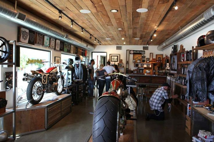 motorcycle store design - Google Search