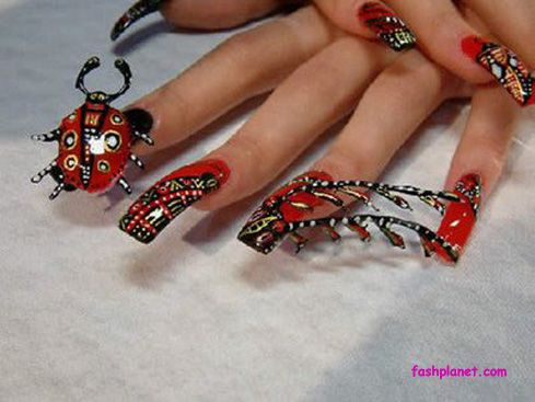 15 best acrylic nail designs images on pinterest acrylic nails halloween acrylic nail design httpfashplanet201304 prinsesfo Image collections