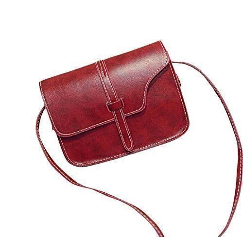Oferta: 3.1€. Comprar Ofertas de FEITONG Muchacha de las mujeres del bolso de hombro de cuero de imitación del bolso de la taleguilla de Crossbody de asas (F) barato. ¡Mira las ofertas!