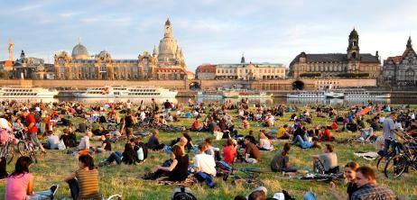 Städtetipp Dresden: Sommer auf den Elbwiesen - SPIEGEL ONLINE - Nachrichten - Reise