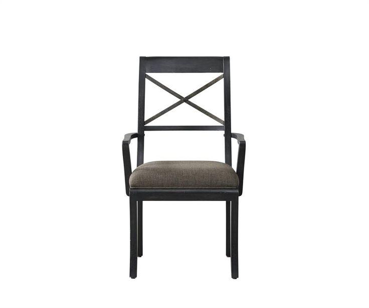 Vintage Tempo Arm Chair Uph Seat 2/ctn (Vintage Tempo Chairs) | Pulaski