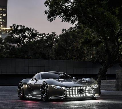 Now that's a sports car....Mercedes Benz GranTurismo concept