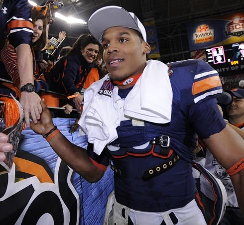 cam newton images | Cam Newton skipping final year at Auburn to enter NFL draft