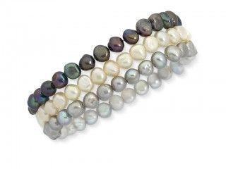 Coloured Pearl Bracelet. Sku: CB400192