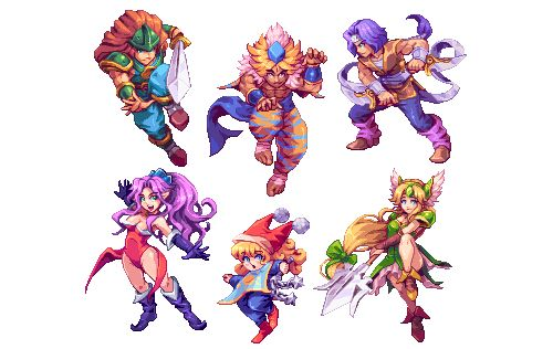 Seiken Densetsu 3 (aka Secret of Mana 2) Pixel Artist: AbyssWolf Source: ahruon.tumblr.com