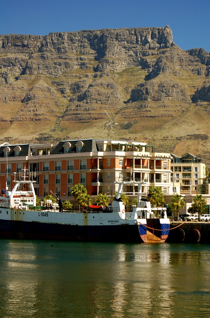 Cape Grace Hotel and Table Mountain - Cape Town, South Africa