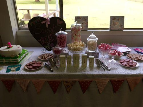 Lolly buffet for 1st Birthday Party.