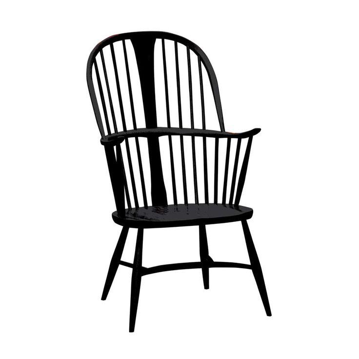 ercol holzstuhl chairmakers chair schwarz schaukelstuhl holzstuhl mit armlehne und holzst hle