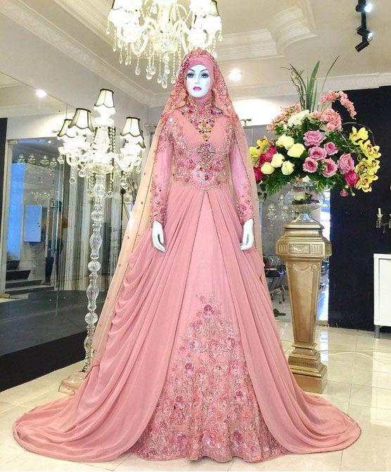 hijab gown kebaya modern