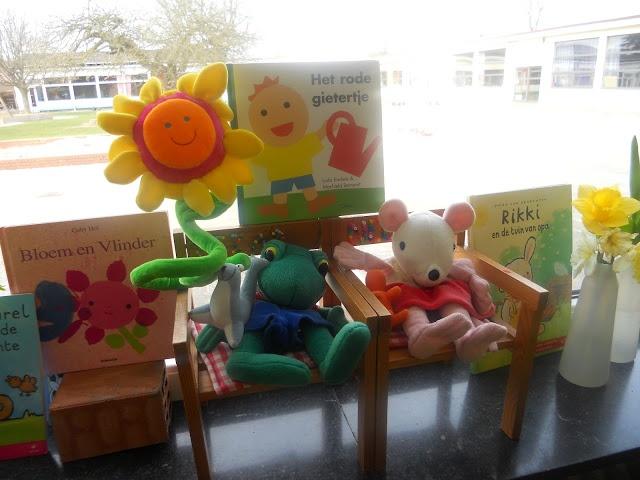 Eerste kleuterklas, Den Hulst: Week van 16 tot 20 april (wk 16): Thema zaaien en planten.
