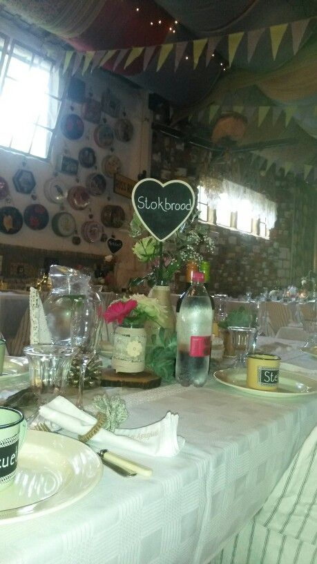Picnic weddings. Table names personalised.