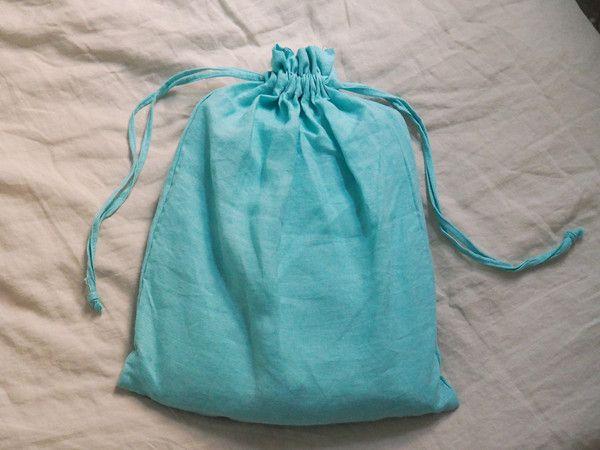Aqua Linen Sheet Set - 100% French flax linen