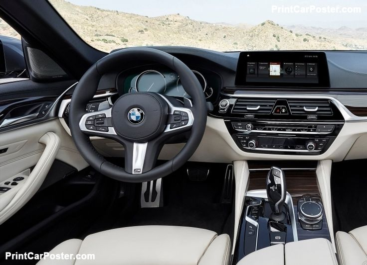 BMW 5-Series 2017 poster, #poster, #mousepad