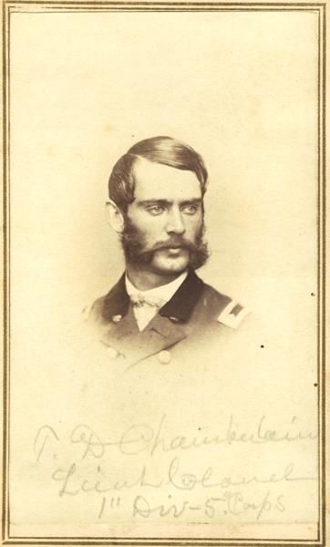 Thomas Davee Chamberlain -The Forgotten Brother... - The Civil War Parlor