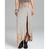 Free People Skirt - Column Printed
