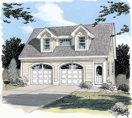 Plan 3792tm simple carriage house plan house plans for Carriage home plans