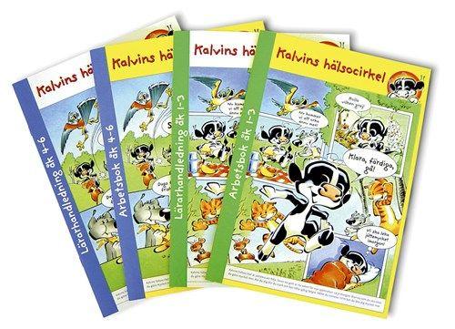 Kalvins Hälsocirkel Skolmaterial alla broschyrer