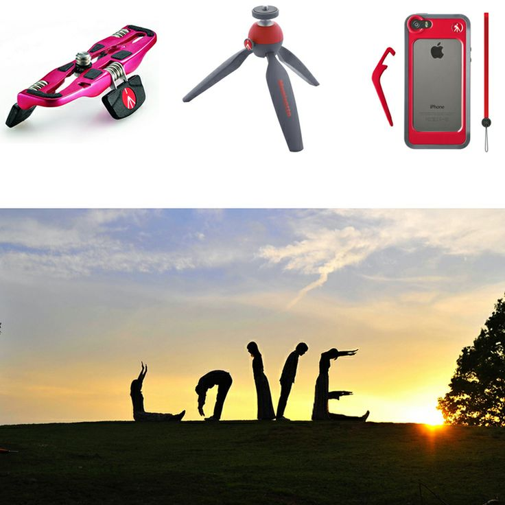 New Manfrotto Photo Contest! Win a Pocket, a Pixi or a Klyp! Topic: #LOVE
