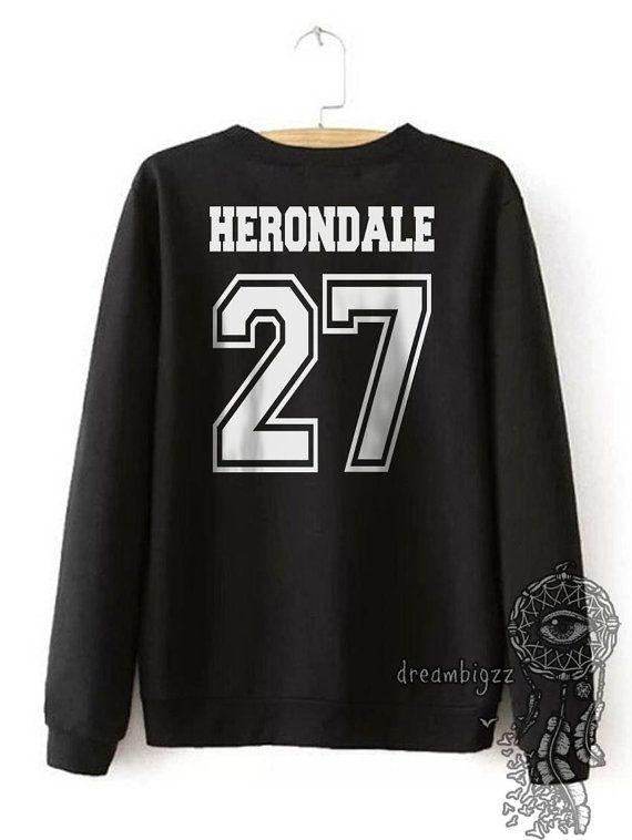 Herondale 27 Idris Università Girocollo Felpa di Dreambigzz