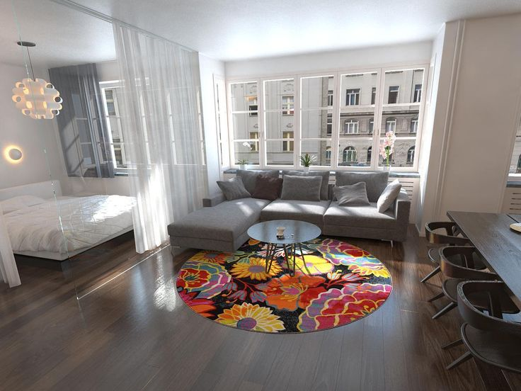13 best interiors images on Pinterest   Circular rugs, Penny rugs ...