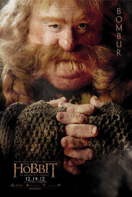 The Hobbit: An Unexpected Journey Movie Poster -- I need this poster for my media room!!! :-)