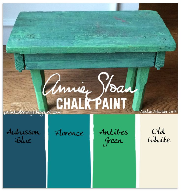 Best Best Of Blues     With Chalk Paint By Annie Sloan