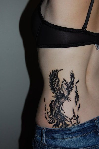 Not a fan of phoenix tattoos since they're incredibly common, but this one looks super cool.