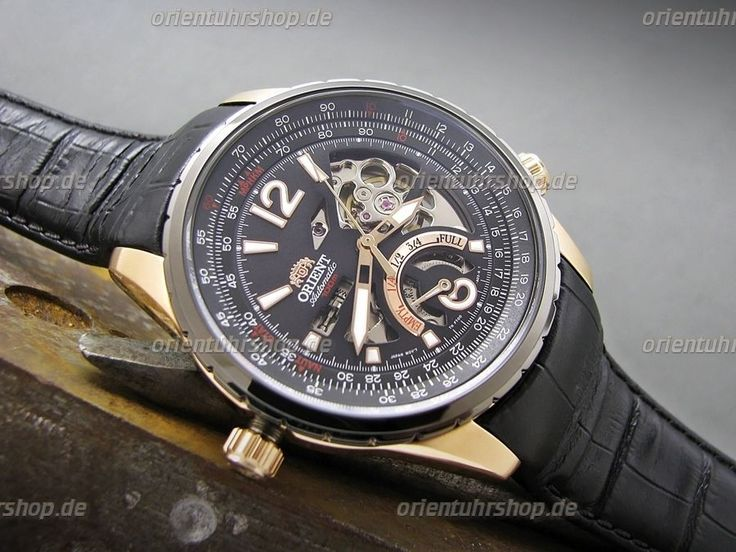 Orient Uhr Rally Automatik Edelstahl Herrenuhr Sapphireglas FFT00008B0 | eBay