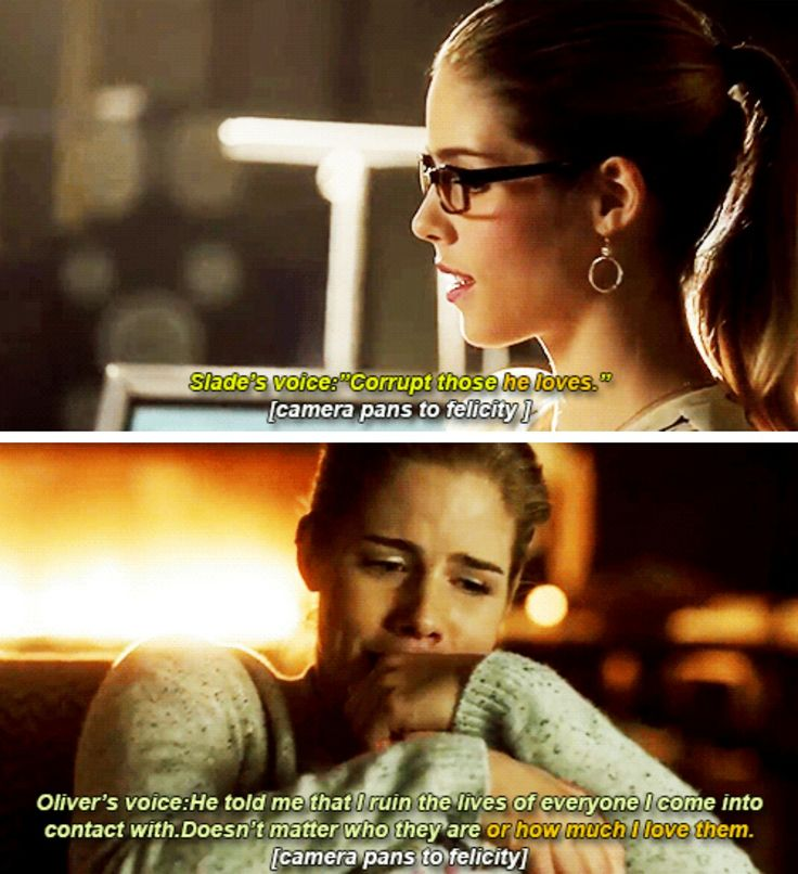 ...it's pretty important that in every big symbolism in Oliver's life Felicity always plays a part especially in the true love part. Olicity
