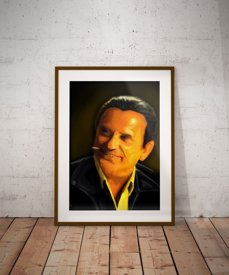 Goodfellas Joe Pesci Tommy DeVito Wall Art Print