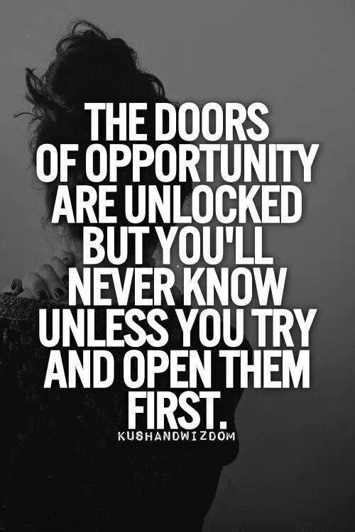 Quotes About Doors Of Opportunity. QuotesGram