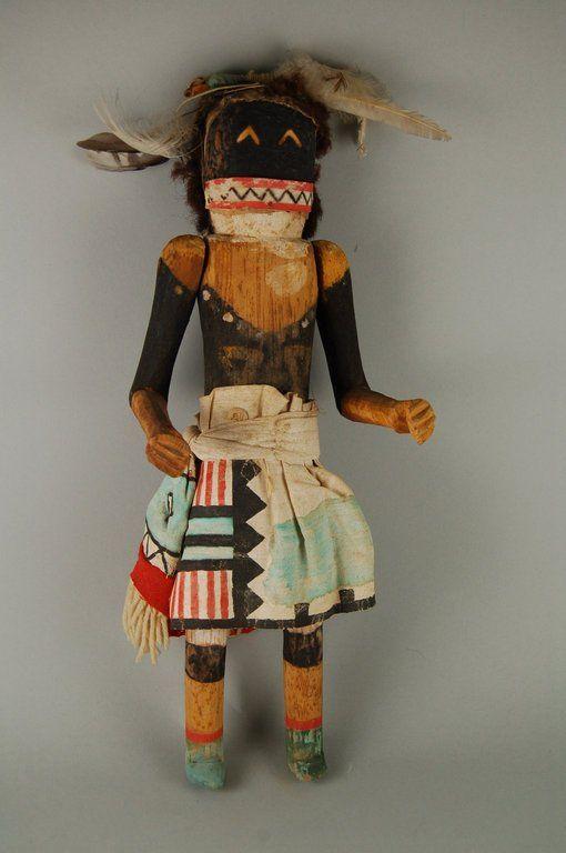 Brooklyn Museum: Arts of the Americas: Kachina Doll (Chakwana)