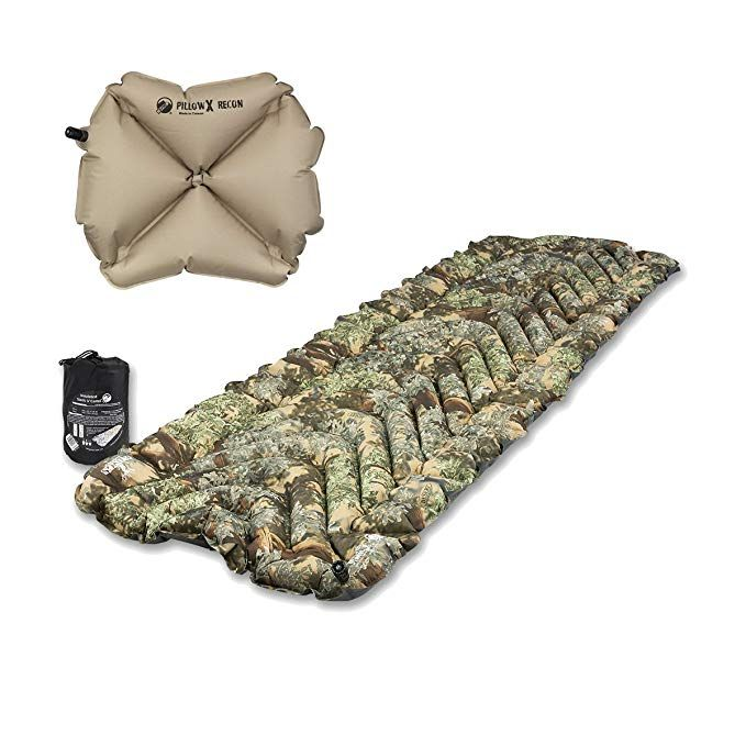 Klymit Insulated Static V Sleeping Pad w/ Pillow X Review