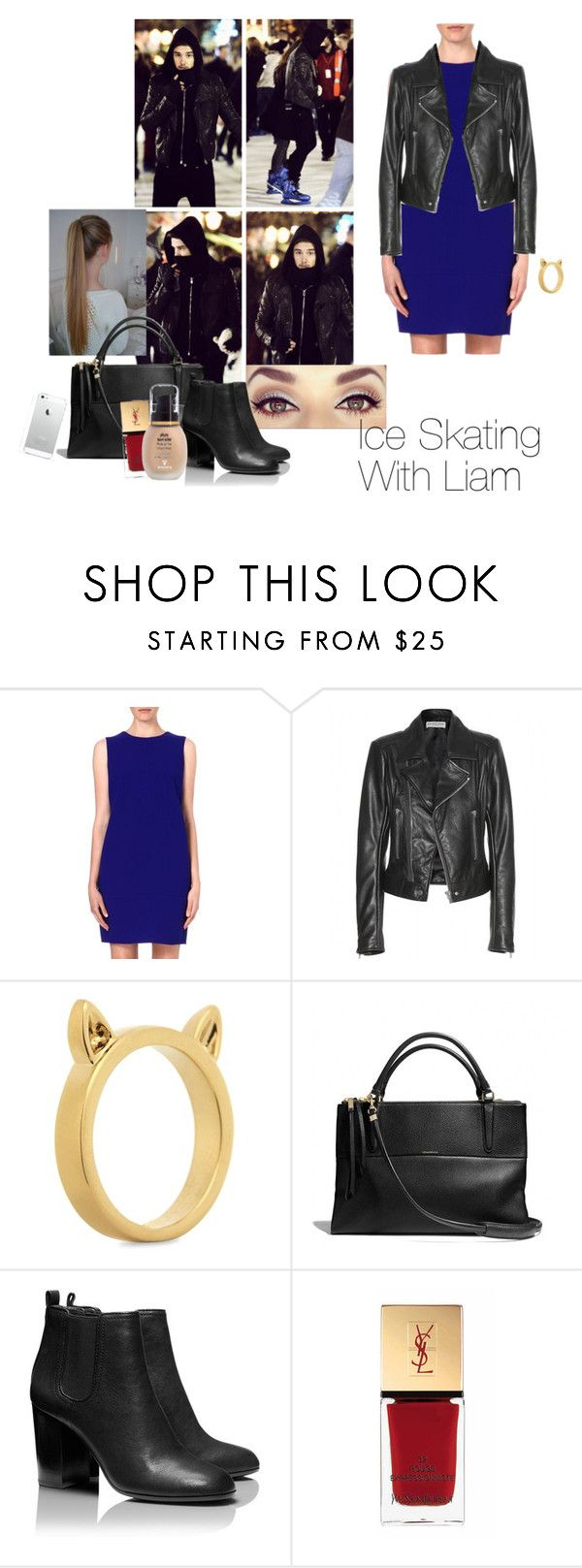 """""""Ice Skating With Liam❤"""" by one-direction-outfitsxxx ❤ liked on Polyvore featuring Payne, Armani Collezioni, Balenciaga, Marc by Marc Jacobs, Coach, Tory Burch, Yves Saint Laurent, Sisley, women's clothing and women"""