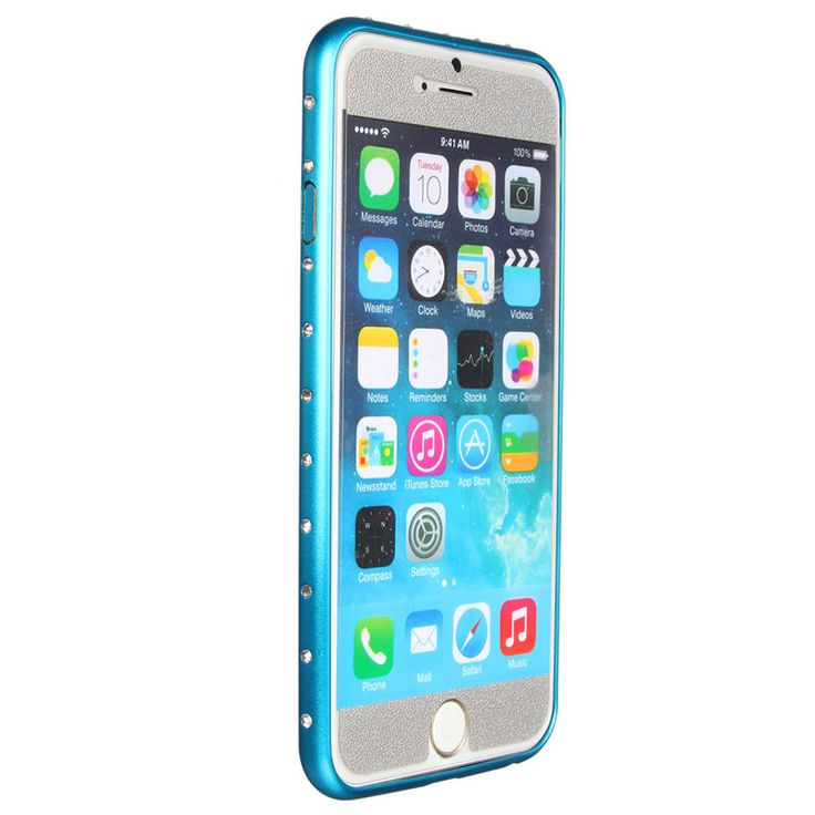 New 4.7 Inch Luxury Crystal Bling Glitter Diamond Buckle Aluminum Metal Frame Bumper Case Cover For Apple For iPhone 6/6s // iPhone Covers Online //   Price: $ 9.95 & FREE Shipping  //   http://iphonecoversonline.com //   Whatsapp +918826444100    #iphonecoversonline #iphone6 #iphone5 #iphone4 #iphonecases #apple #iphonecase #iphonecovers #gadget #gadgets
