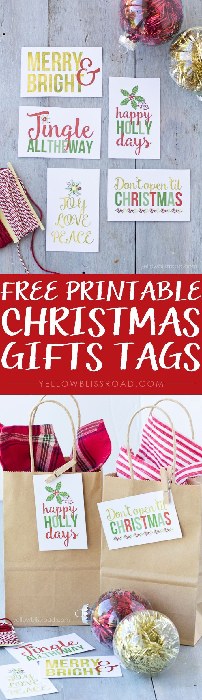 1670 best free gift tags images on pinterest free printables free printable christmas gift tags negle Image collections